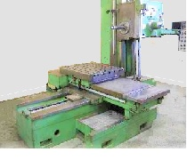 3 Inch Wotan B75 Horizontal Boring Mill