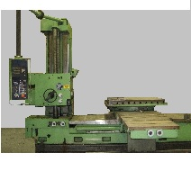 4 Inch Union Model BFT Horizontal Boring Mill