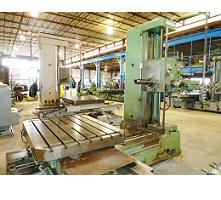 4 Inch Wotan Model B105S Horizontal Boring Mill