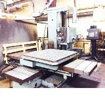 4 Inch Wotan Model B105M Horizontal Boring Mill